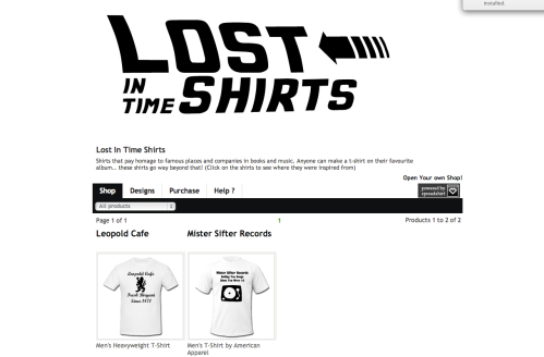 t-shirt site