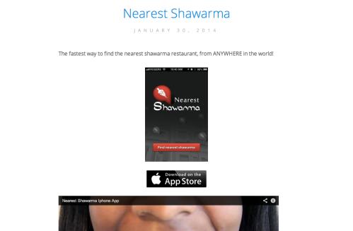 Nearest_Shawarma Ghetto Site